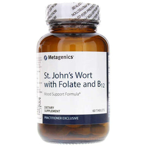 St. Johns Wort with Folate & B12 60 Tablets