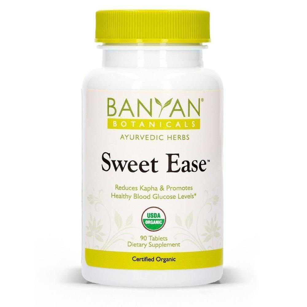 Sweet Ease™ 90 tablets - Banyan Botanicals - 2 Pack