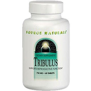 Tribulus 750MG - 60 Tablet s- Source Naturals - 3 Pack - Vitasell.net