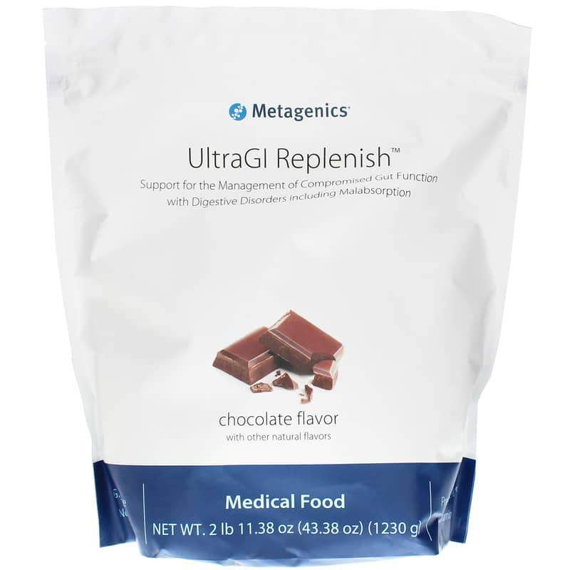 Ultra GI Replenish Chocolate 14 Servings - Metagenics - Vitasell.net