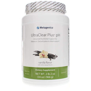 UltraClear Plus pH for Metabolic Detoxification & Alkalinization Vanilla