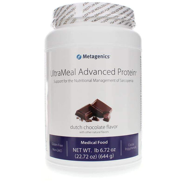 UltraMeal Advanced Protein Dutch Chocolate - Vitasell.net