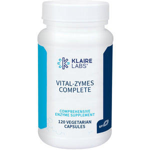Vital-Zymes Complete 120 Count -  Klaire Labs - Vitasell.net