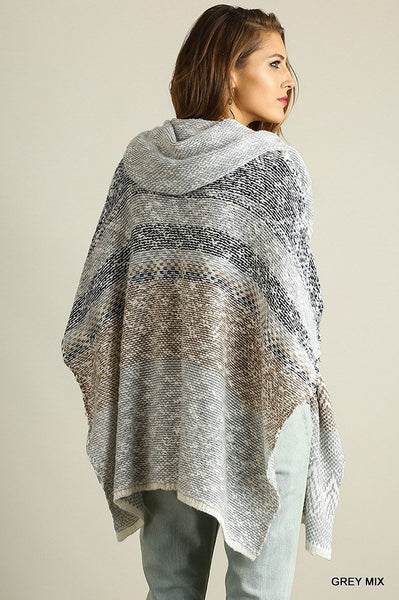 Winter Wonderland Poncho - Free Shipping - C&S Clothing Co.