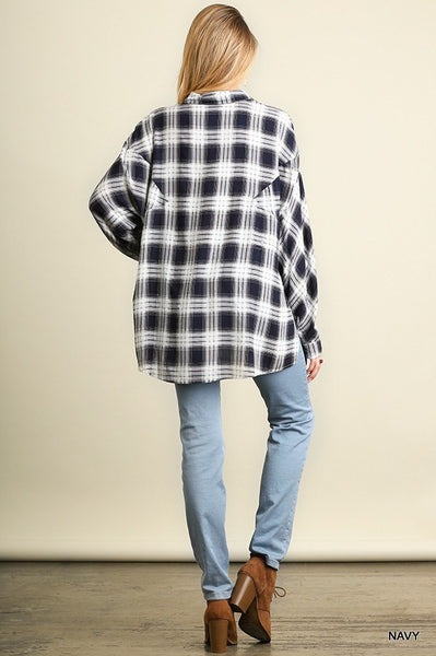 The Power of Plaid Top - Free Shipping - C&S Clothing Co.
