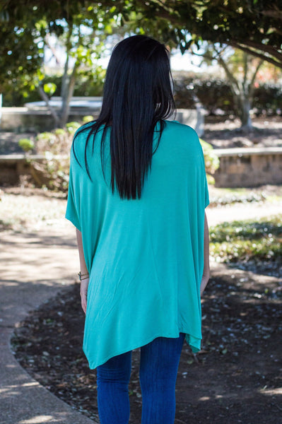 Let them eat cake, peace love cake, Ezra tunic, women's tunic, Ezra tunic mint, women's online boutique, women's affordable trendy fashion, women's trendy fashion, online boutique, cs clothing co, c&s Clothing co