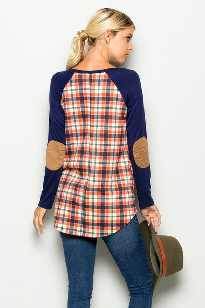 All American Plaid Tunic - fast and Free Shipping - C&S Clothing Co.