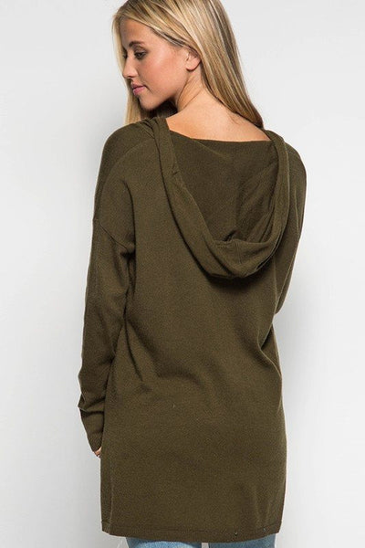 No Hassle with My Tassel Hooded Sweater - Free Shipping - C&S Clothing Co.