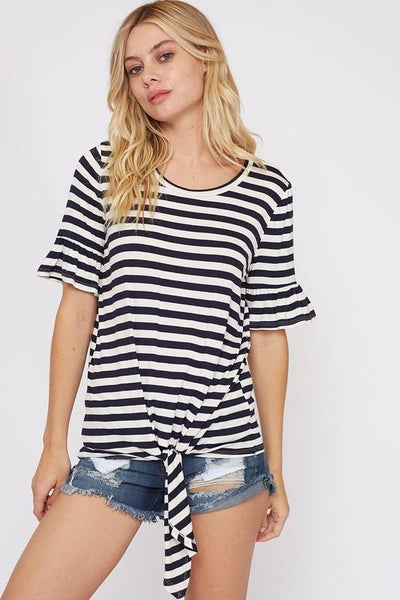 womens black and white striped top, womens black and white tee, womens striped top, womens trendy affordable fashion, womens trendy fashion, cs clothing co, c&s clothing co, womens online boutique,