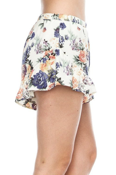 Spring Forward Floral Shorts, womens shorts, womens floral shorts, womens trendy fashion, cs clothing co, c&s clothing co, online boutique, fast and free shipping, free shipping , C&S Clothing Co.