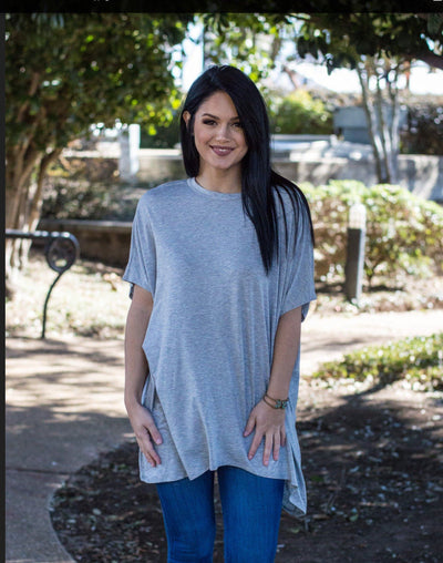peace love cake, Ezra tunic, blush tunic, online boutique, women's affordable trendy fashion, cs clothing co, c&s Clothing co, womens flowy tshirts