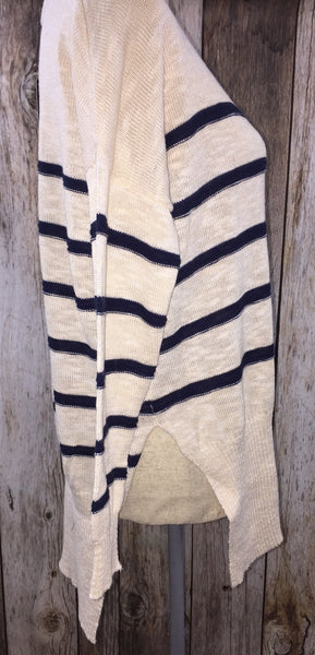 Stripe it Rich Tunic Sweater - Free Shipping - C&S Clothing Co.