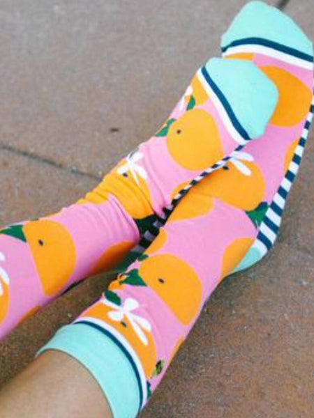 Orange You Glad Socks - Free Shipping - C&S Clothing Co.