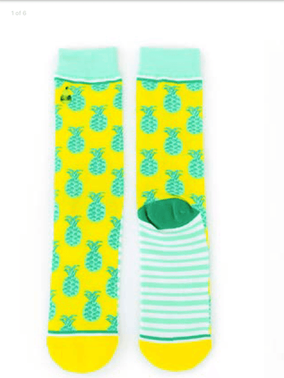 pineapple whip socks, pinapple socks, gift ideas, birthday gifts, christmas gifts, graphic socks, silly socks, comfy socks for woman, free shipping
