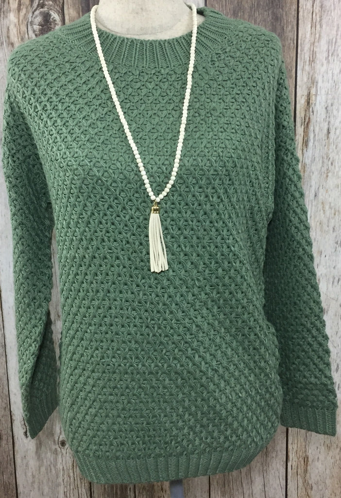 round and round we go sweater, green knitted sweater, olive knitted sweater, knitted sweater, green sweater, olive sweater, woman's sweaters, free shipping, cs clothing co, c&s clothing co, womens trendy fashion, womens trendy clothing, womens affordable fashion, womens affordable clothing, online boutique, fast and free shipping
