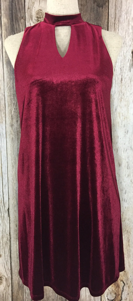 burgundy key hole dress, key hole dress, party dress, holiday dresses, special occasion dresses, velvet dresses, free shipping
