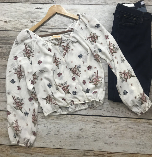 let them eat cake, kierston top, floral off the shoulder top, let them eat cake tops, floral tops, womens floral tops, womens trendy fashion, womens affordable fashion, online boutique, cs clothing co, c&s clothing co, fast and free shipping, free shipping