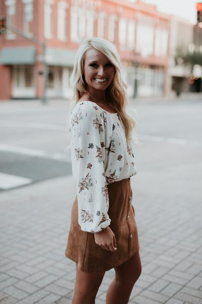 let them eat cake kierston top, let them eat cake, kierston top, womens floral off the shoulder top, peace love cake tops, peace love cake, womens trendy fashion, womens affordable fashion, online boutique, cs clothing co, c&s clothing co, fast and free shipping, free shipping