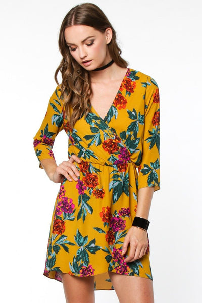 For the Love of Floral Dress - Free Shipping - C&S Clothing Co.