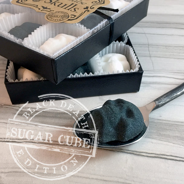 Black & White Skull Sugar Cube / 9-Pack Gift Box