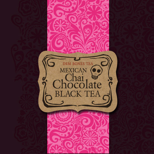 Buy Mexican Chai Chocolate Tea - LIMITED EDITION from Dembones! Perfect tea for you! -Tea
