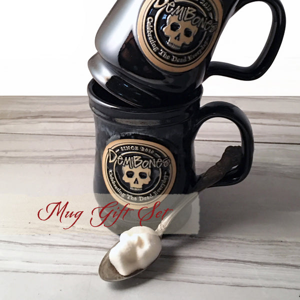 Skull Coffee Mug - Gift Set
