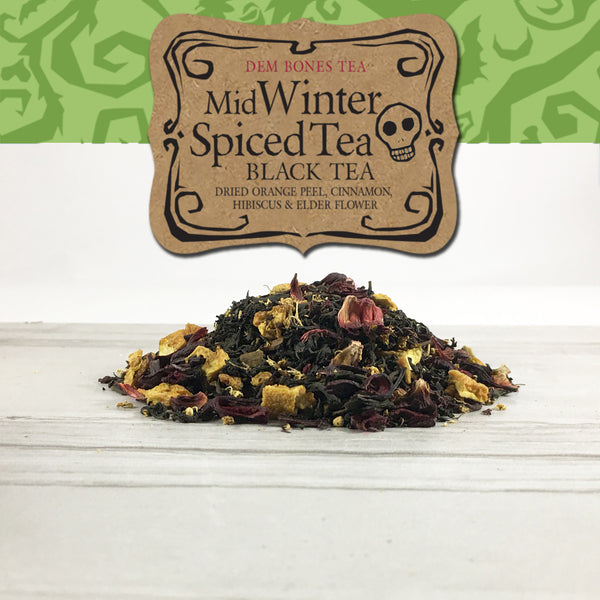 Loose Leaf Tea / MidWinter Spiced Tea- Orange Spiced Black Tea Blend