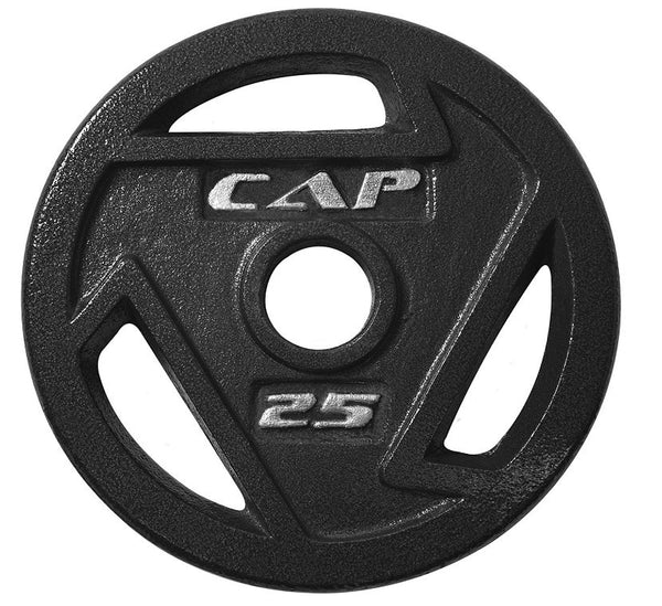 "CAP Barbell - 2"" Olympic Grip Plate, 25 lbs."