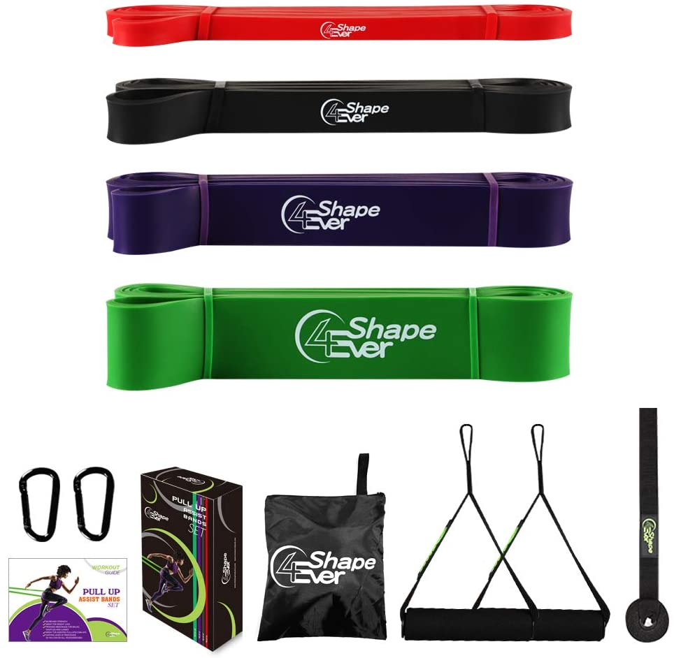 4EverShape Resistance Bands Set with Handles and Door Anchor
