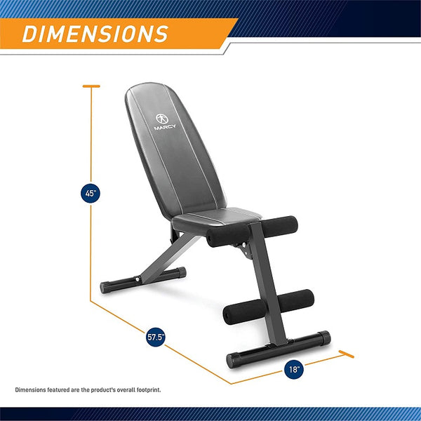 Marcy Adjustable Workout Utility Bench