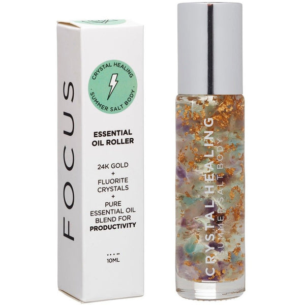 Summer Salt Body Focus Essential Oil Roller - 10ml