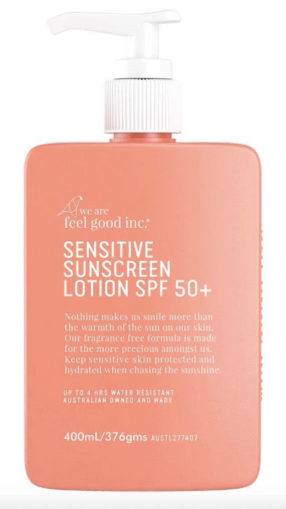 Feel Good Inc. Sensitive Sunscreen Lotion SPF 50+ - 400ml