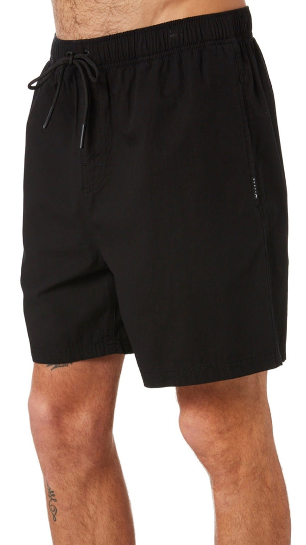 Rusty Atoll Short - Black