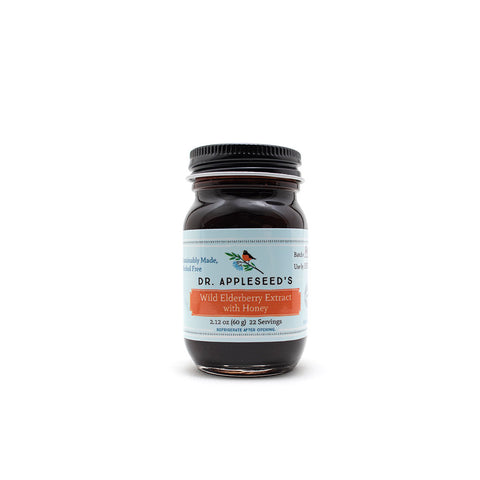 Wild Elderberry Extract with Honey