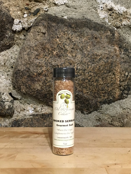 Smoked Serrano Gourmet Sea Salt