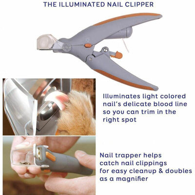 dxpro-us Illuminated Pet Nail Clipper