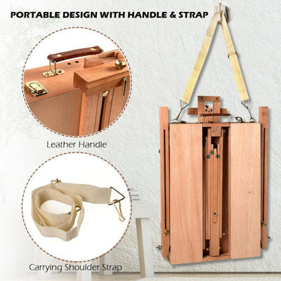 factorydirectsale Portable French Easel Wood Sketch Tripod