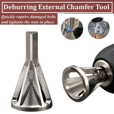 fancyping2016 Stainless Steel Deburring Tool