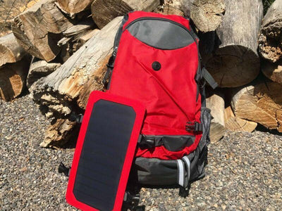 gaminggoodiez Black[out of stock] SolPak - Hikers Dream Solar Powered BackPack