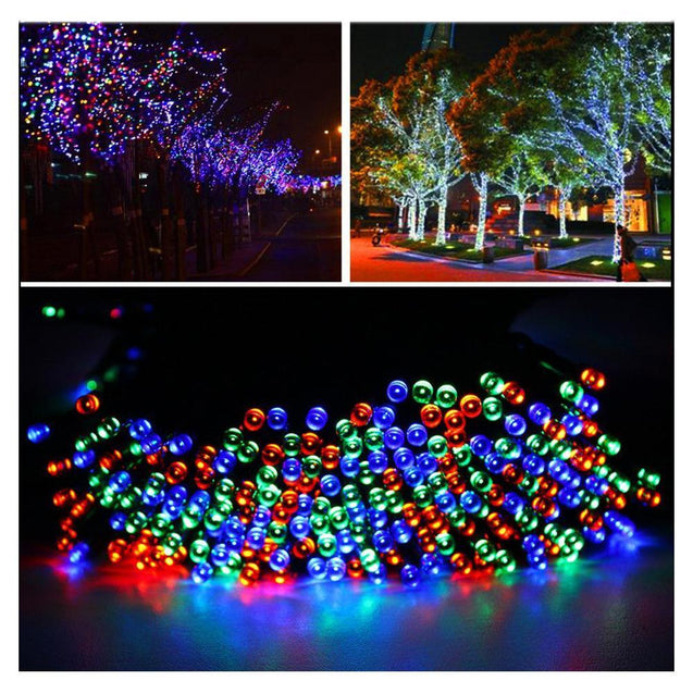 Item Hunters 12m 100 LED Solar Powered LED Fairy String Lights