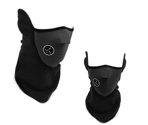 Item Hunters Black Neoprene Thermal Winter Mask