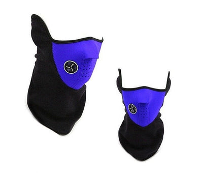 Item Hunters Blue Neoprene Thermal Winter Mask