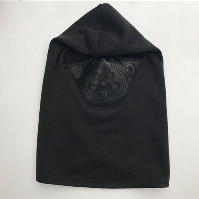 Item Hunters Combat Black Motorcycle Winter Fleece