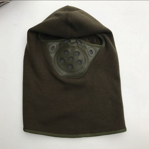 Item Hunters Combat Green Motorcycle Winter Fleece