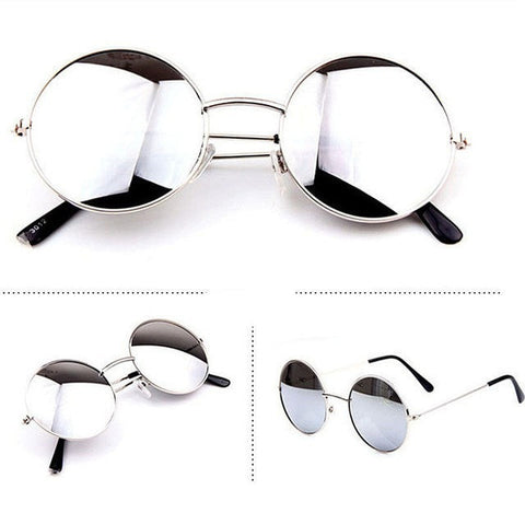 "Item Hunters glasses white silver ""The Traveler"" Sunglasses"