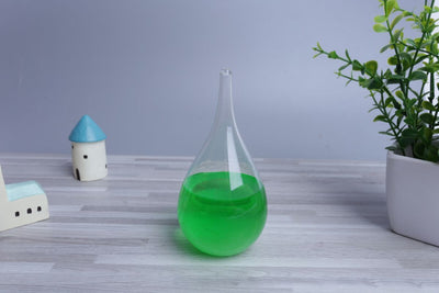 Item Hunters Green (16cm x 8cm) Storm Weather Glass