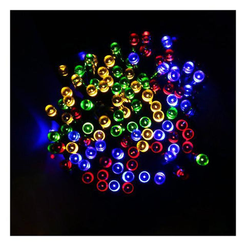Item Hunters Multi-color 12m 100 LED Solar Powered LED Fairy String Lights