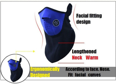 Item Hunters Neoprene Thermal Winter Mask