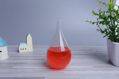 Item Hunters Red (16cm x 8cm) Storm Weather Glass