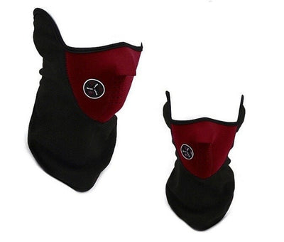 Item Hunters Red Neoprene Thermal Winter Mask
